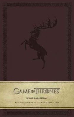 Game of Thrones - House Baratheon Large Ruled Journal (Notebook / blank book)