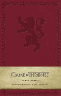 Game of Thrones - House Lannister Large Ruled Journal (Notebook / blank book)