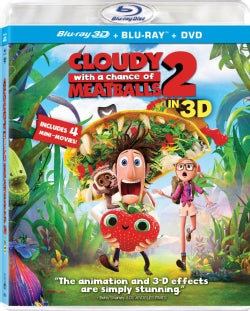 Cloudy with a Chance of Meatballs 2 3D (DVD)
