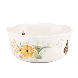 Lenox 'Butterfly Meadows' 2-piece Nesting Bowl Set