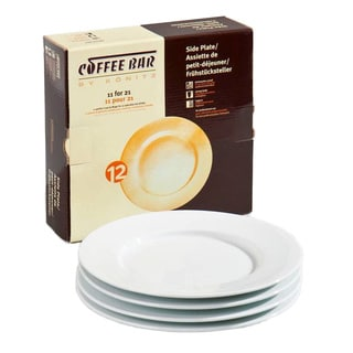 Konitz 4-Piece Coffee Bar Plates