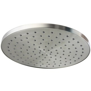 Jado Contemporary Ultra Steel Round 10-inch Showerhead