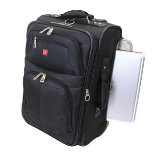 Wenger Swiss Gear 20-inch Rolling Lightweight Carry On Expandable Upright w/Laptop Access