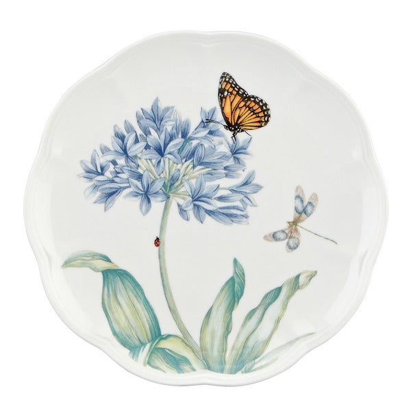 Lenox 'Butterfly Meadow' Blue Accent Plate 12012679