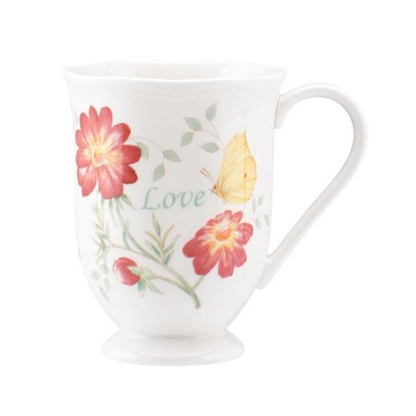 Lenox Butterfly Meadow 'Love' Mug
