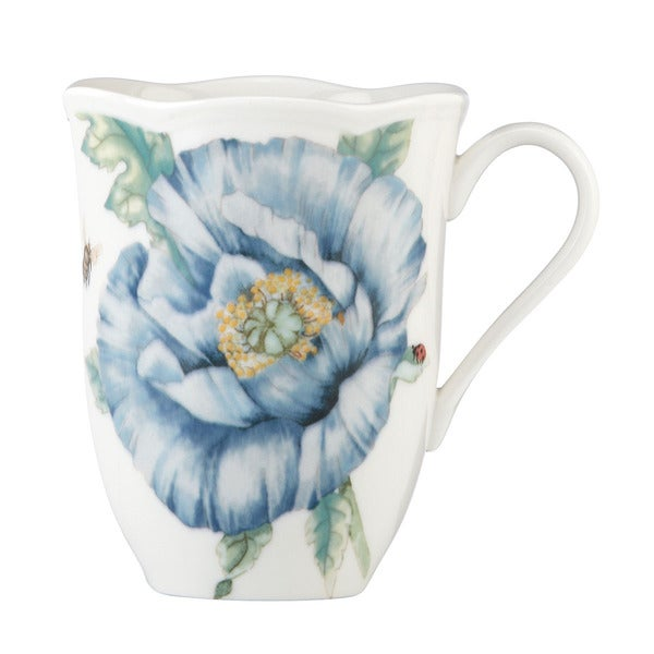 Lenox 'Butterfly Meadow' Blue Mug 12012681