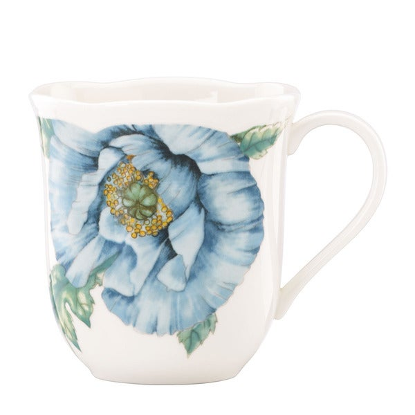 Lenox 'Butterfly Meadow' Blue 4-piece Mug Set 12012682
