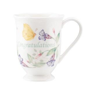 Lenox Butterfly Meadow 'Congratulations' Mug