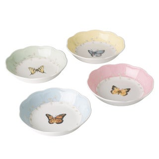 Lenox 'Butterfly Meadow' 4-piece Fruit Dish Set