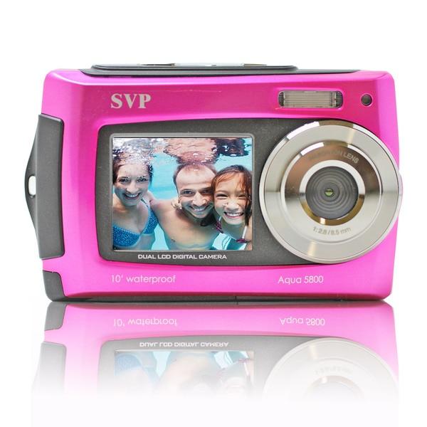 SVP Aqua 5800 18MP Dual Screen Waterproof Digital Camera