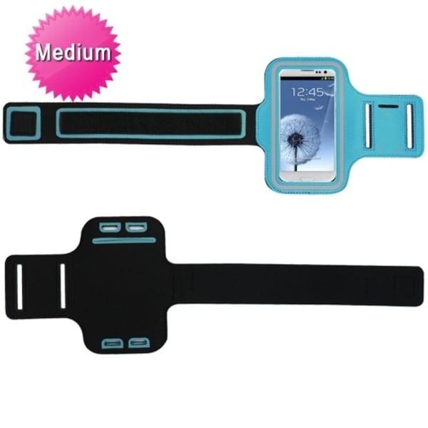 INSTEN Blue Universal Vertical Sport Armband Phone Case Cover