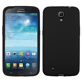 BasAcc Solid Black Skin Case for Samsung i527 Galaxy Mega