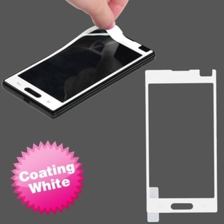 BasAcc White Coating Screen Protector for LG P769 Optimus L9