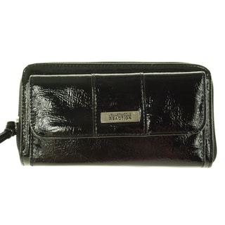 Kenneth Cole Reaction Urban Organizer Large Clutch Wallet Purse
