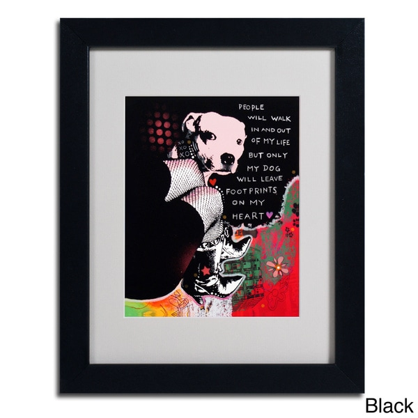 Dean Russo 'Girls Best Friend' Framed Matted Art
