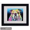 Dean Russo 'The Bulldog' Framed Matted Art