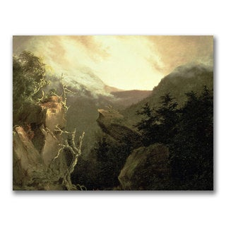 Thomas Cole 'Mountain Sunrise' Canvas Art