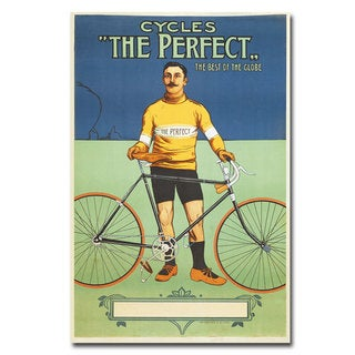 Unknown 'The Perfect Bicycle' Canvas Art