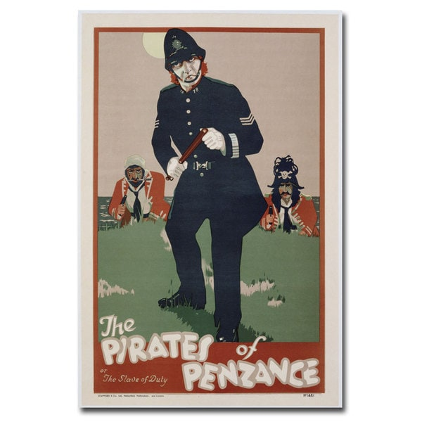 Unknown 'The Pirates of Penzance' Canvas Art