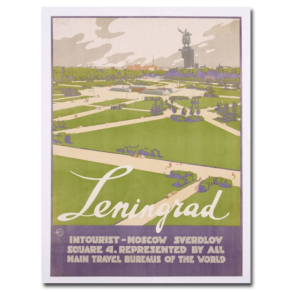 Unknown 'Leningrad' Canvas Art