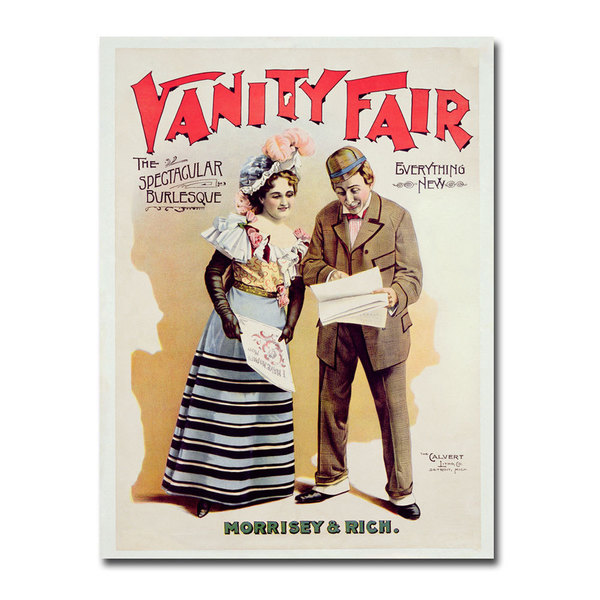 Unknown 'Vanity Fair' Canvas Art