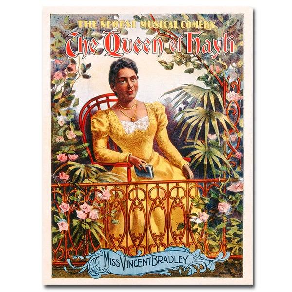 Unknown 'The Queen of Hayti' Canvas Art