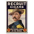 Unknown 'Recruit Cigars' Canvas Art