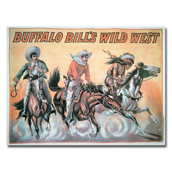 Unknown 'Buffalo Bill's Wild West Show' Canvas Art