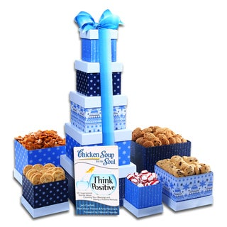 Alder Creek Gift Baskets Think Positive Gift Tower