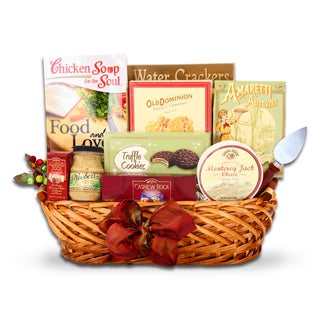 Alder Creek Gift Basket Food & Love Gift Basket