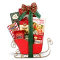 Alder Creek Gift Baskets Christmas Cheer Sleigh