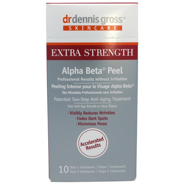 Dr Dennis Gross Alpha Beta Extra Strength Daily Face Peel (10 Packettes)