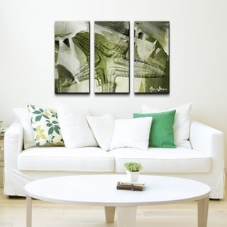 Alexis Bueno 'Starfish' 3-piece Canvas Wall Art