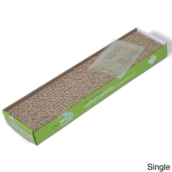 Van Ness Pureness Cat Scratch Pad with Organic Catnip