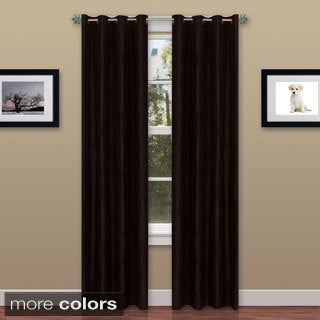 Windsor Wavy 84-inch Grommet Curtains (Set of 4)