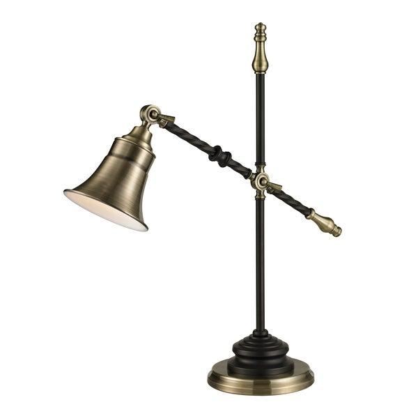 Desk Lamp In Antique Brass