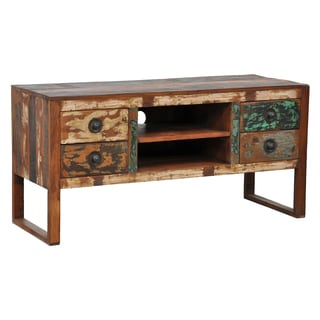 'Mullin' Reclaimed Wood TV Stand