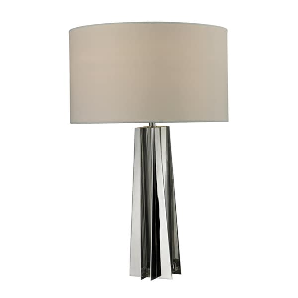 1-Light Chrome Table Lamp