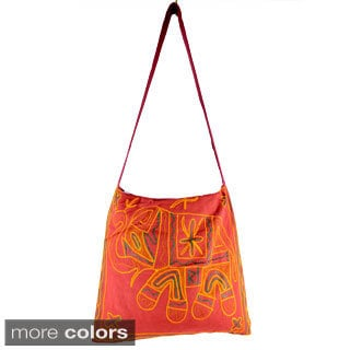 Handmade Elephant Cross-body Bag (India)
