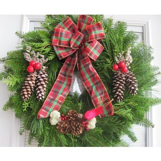 Fresh Maine Balsam 24-inch Wreath