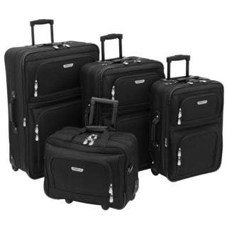 American Trunk and Case Voyager 4-Piece Luggage Set