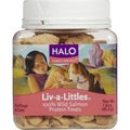 HALO Liv-A-Littles 100-percent Wild Salmon Protein Pet Treats (Pack of 2)