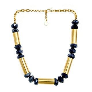 Bita Pourtavoosi 24k Gold over Brass Statement Necklace