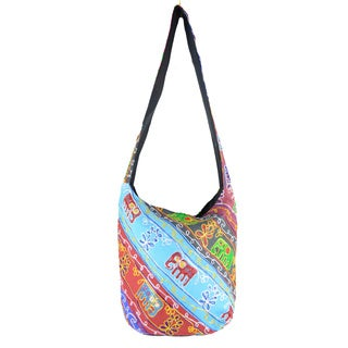 Handmade Cross-body Bag (India)