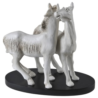 Handcrafted 'Compassion' Horse Sculpture