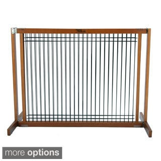 Dynamic Accents Artisan Bronze Kensington Free Standing Wood/Wire 30-inches Tall Gates