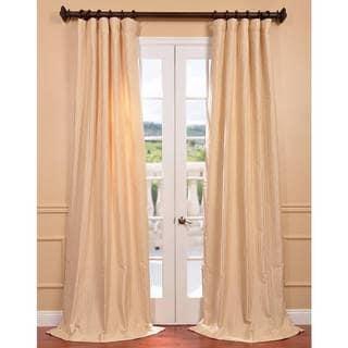 Bjork Creme Jacquard Curtain Panel