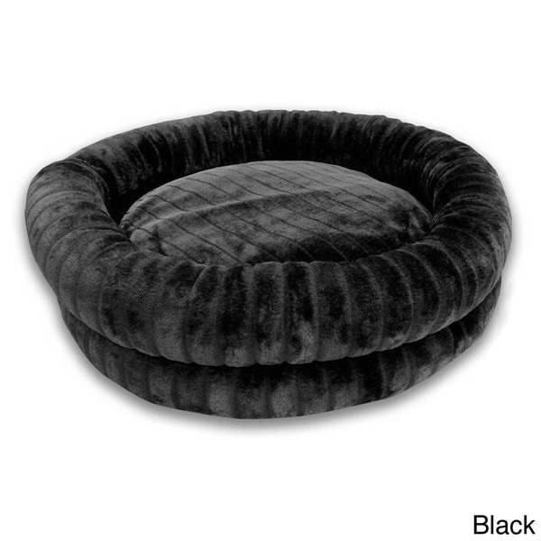 Channel Hastings Faux Fur Round Cuddler Pet Bed 15812121