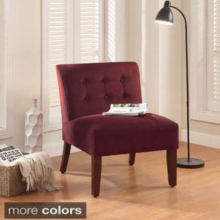 Velvet Tufted Accent Chair