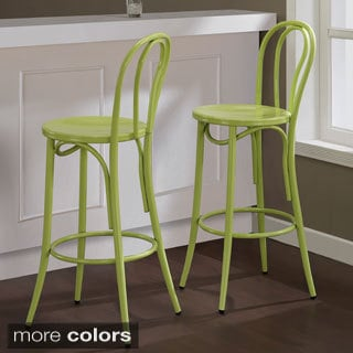 Cafe Metal Bar Stool (Set of 2)